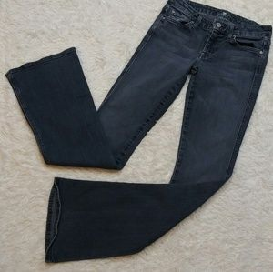 """7 For All Mankind """"A"""" Pocket Medium Wash Jeans"""